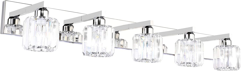 Aipsun Crystal Bathroom Vanity, Crystal Bathroom Vanity Light