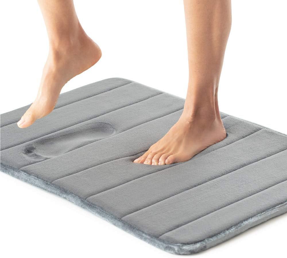 Gorilla Grip Premium Memory Foam, Memory Foam Bathroom Rug