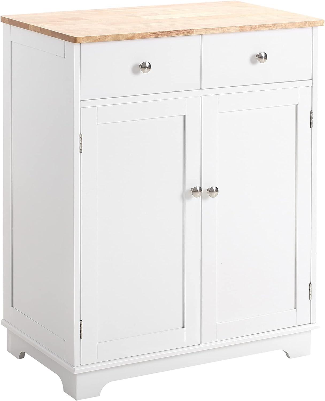 Homcom Kitchen Sideboard Floor, Dining Room Cupboards Uk