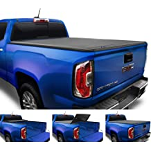 """Soft Roll Up Tonneau Cover For 2015-2019 Chevy Colorado GMC Canyon 5ft 60/"""" Bed"""