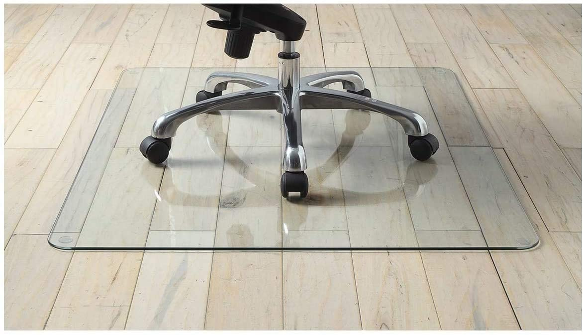 Guarantee Thickest Office Chair Mat, Will A Rolling Office Chair Damage Laminate Flooring