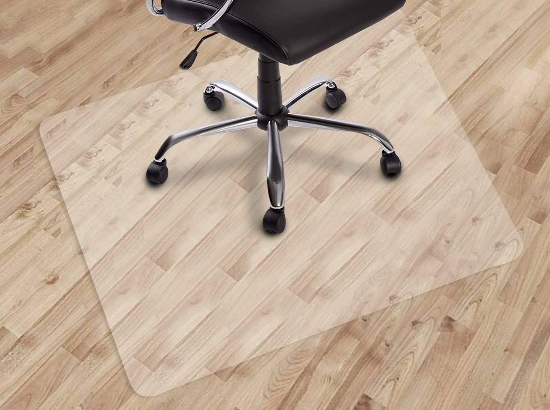X 48 Transpa Floor Mats Easy Glide, Office Chair Mat For Laminate Flooring