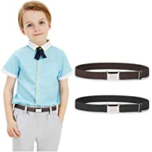 Boys Girls Buckle Free Stretch Belt Jeans Waistband Waist Belt Adjustable Kids*S