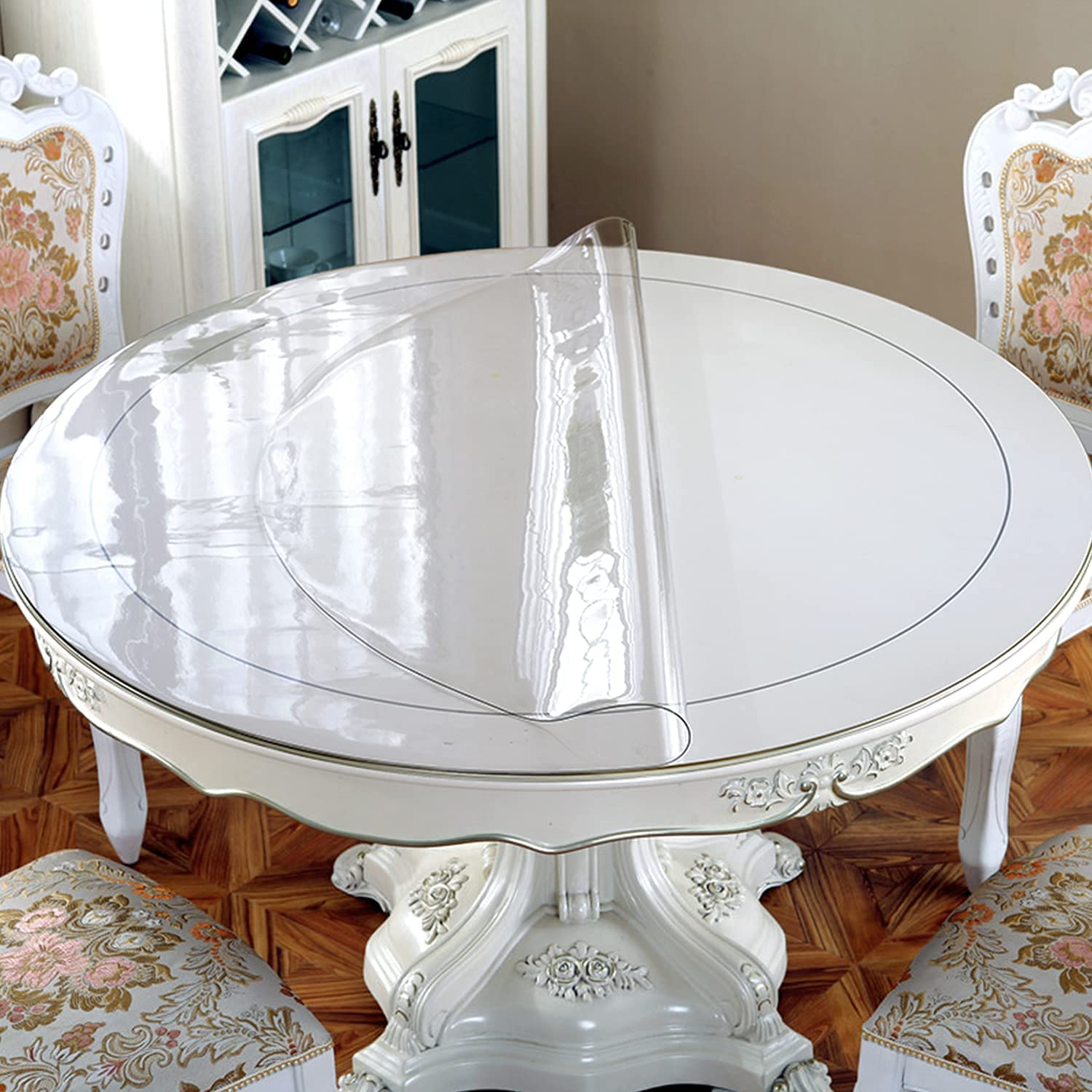 New Version 1 5mm Thick 60 Inches, 60 Inch Round Tablecloth Disposable