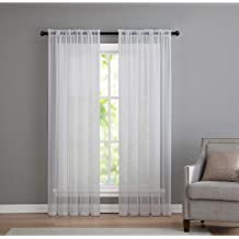 Assorted Colors Sheer Grommet Curtain Panels By GoodGram¨