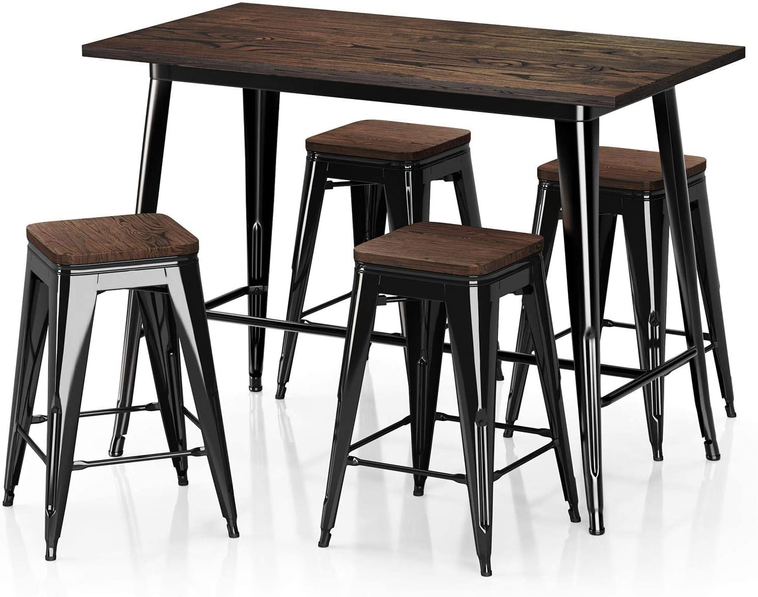 Dining Table 24 Stools Sets, Heavy Duty Dining Room Furniture