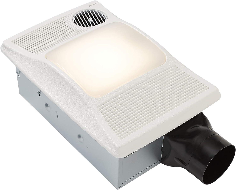 Broan Nutone 100hl Directionally, Bathroom Exhaust Fan Heater Combination