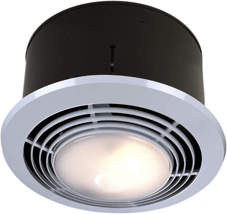 Broan Nutone 9093wh Exhaust Fan Heater, Bathroom Light And Fan Combo