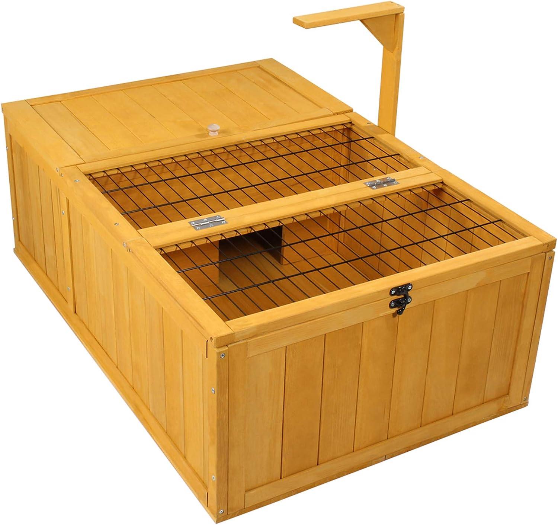 23+ Buy Rockever Tortoise House Habitat Wooden Small Animal Hutch ... Kollektion
