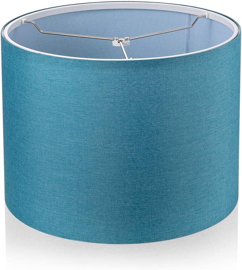 Assembly Required Lampshade, Fabric Drum Lamp Shades