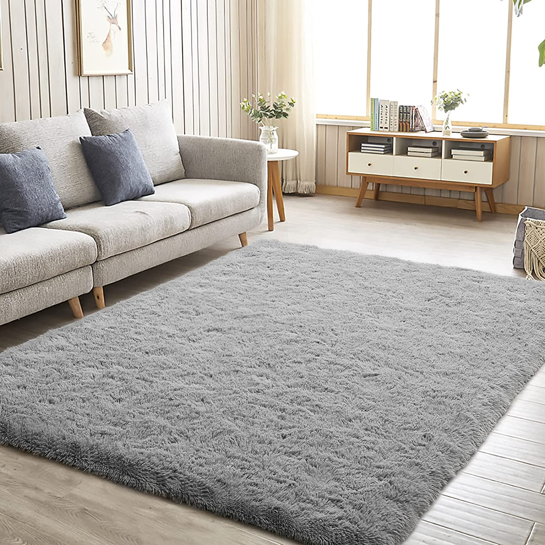 Idailic Soft Bedroom Area Rugs