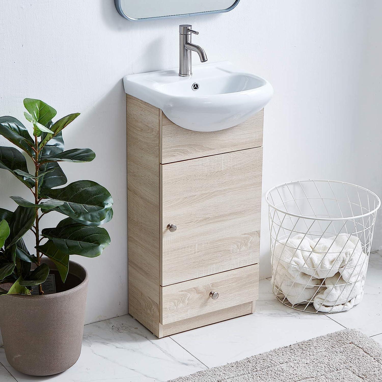Sink Single Bathroom Vanity Cabinet, Modern Bathroom Cabinets With Sink