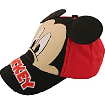 Ages 2-7 Disney Boys Cars Lightning McQueen Cotton Basebal Cap 2 Pack